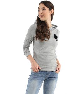 "Picture of Jumper ""Lisa"" for pregnant and lactating; color: gray melange"