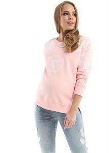 Bild von New Yorker Sweatshirt für Schwangere; Farbe: pudrig