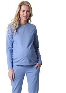 """Image de Suit """"Amelia"""" pour les femmes enceintes et allaitantes; couleur: mélange de denim"""