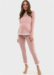 """Picture of Set for the house """"Dagna"""" for pregnant women and nursing; color: dusty rose"""