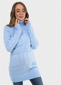 "Picture of Jumper ""Jess"" for pregnant and lactating; blue color"