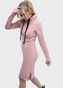 """Изображение Платье """"Вилена"""" для кормящих; цвет: пудровый"""