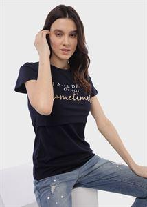 """Bild von T-Shirt """"Dani"""" zum Stillen; weiße Farbe"""