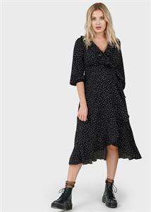 """Изображение Платье """"Николь"""" для беременных и кормящих; цвет: черный"""