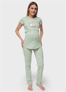 """Изображение Комплект для дома """"Стивен"""" для беременных и кормящих; зеленый"""
