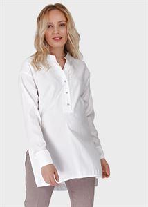 """Изображение Блузка (рубашка) с длинным рукавом для беременных и кормления """"Зара""""; белый"""