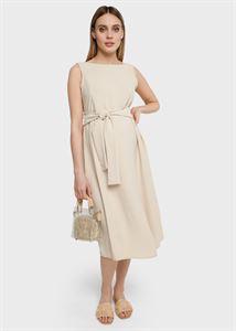 """Изображение Платье """"Шарлотта"""" для беременных и кормящих; цвет: бежевый"""