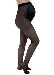 Obrazek Rajstopy dla kobiet w ciąży 40 DEN czarne (ze specjalną wkładką)