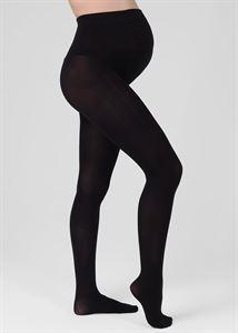 Obrazek Rajstopy bawełniane dla kobiet w ciąży 300 den; czarny kolor