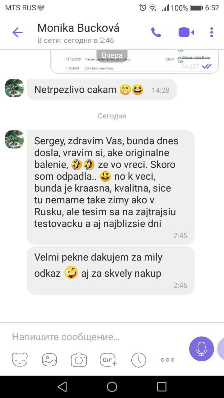 Monika, Česká republika, prosince 2020